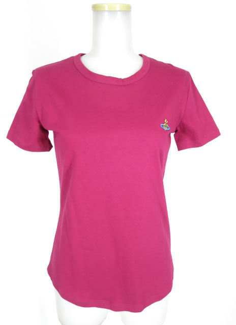 Vivienne Westwood RED LABEL カラーオーブ刺繍Tシャツ