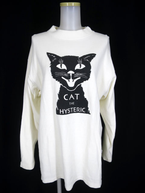Hysteric Glamour CAT THE HYSプリントビッグスウェット