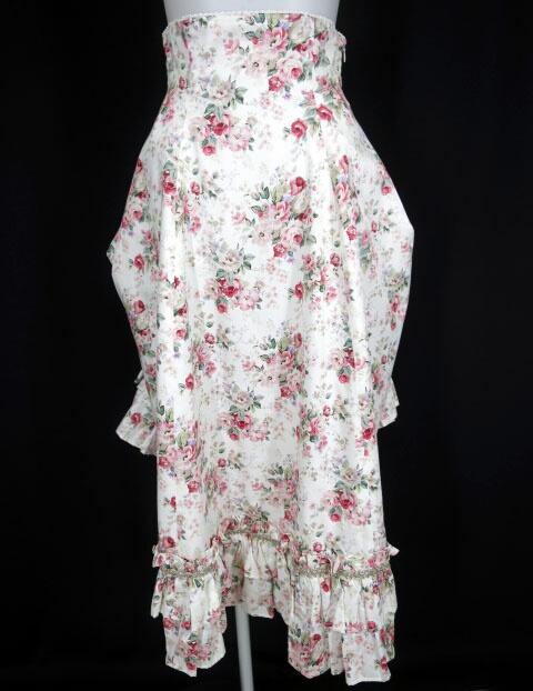Victorian maiden ロココブーケバッスルロングスカート