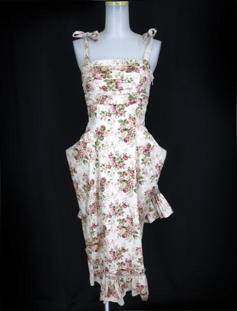 Victorian maiden ロココブーケ ロングサンドレス
