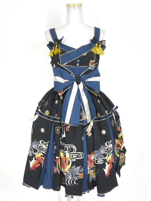 Metamorphose 乙女の白昼夢タックジャンパースカート