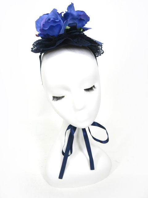 Metamorphose バラコサージュ円形ヘッドドレス
