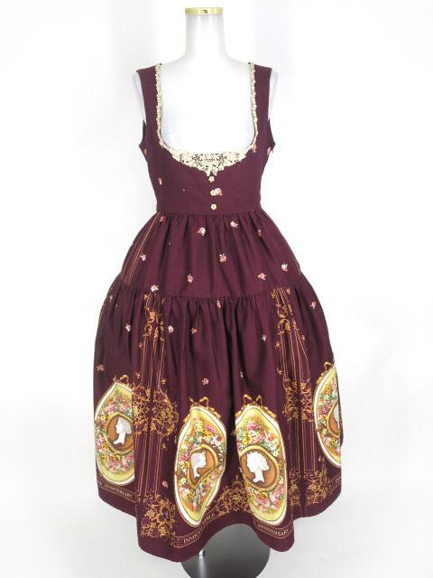 Innocent World 花の女神フローラティアードジャンパースカート