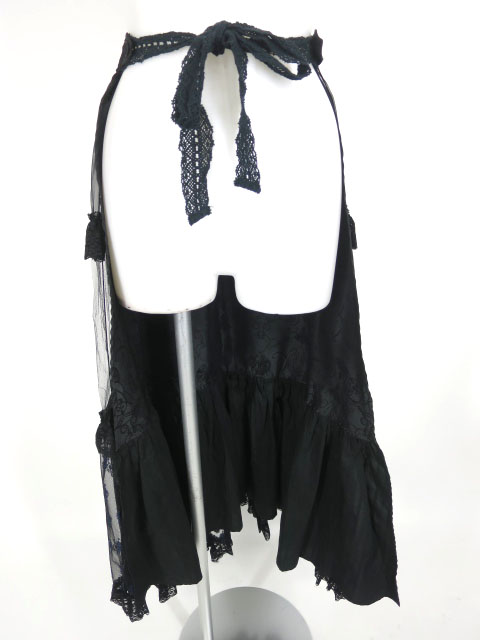h.NAOTO FRILL オーバースカート