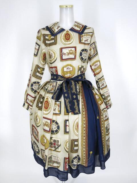 Jane Marple Royal chocolate コレットドレス