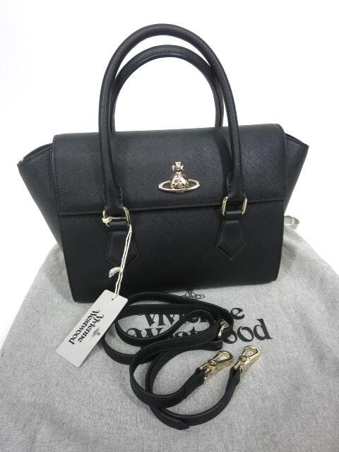 Vivienne Westwood PIMLICO 2wayミディアムハンドバッグ