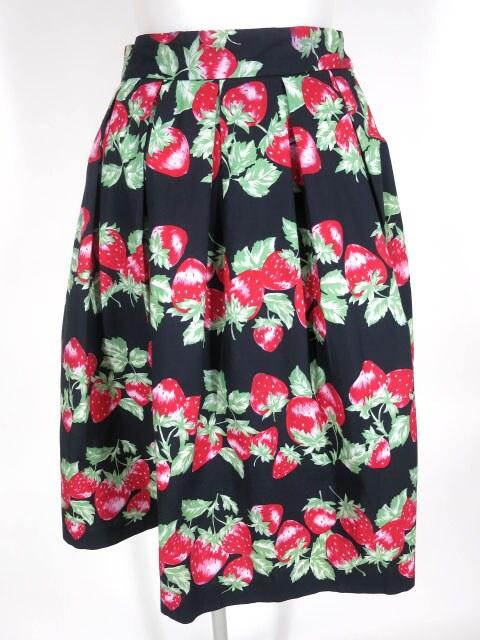 Jane Marple ストロベリーボーダースカート