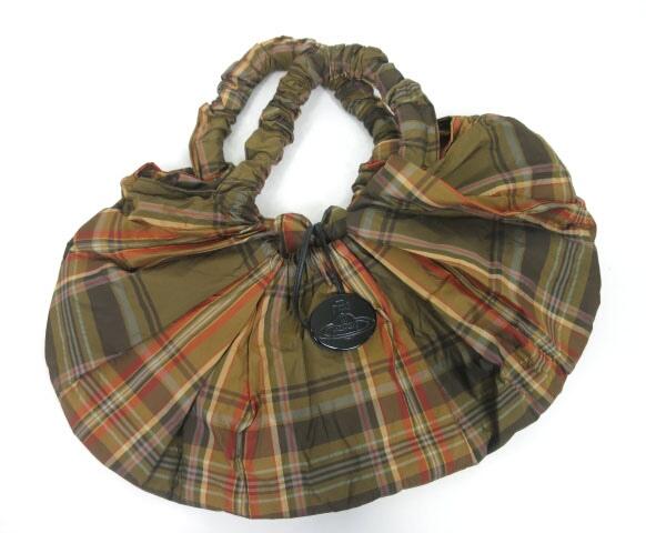 Vivienne Westwood タータンチェック柄バッグ