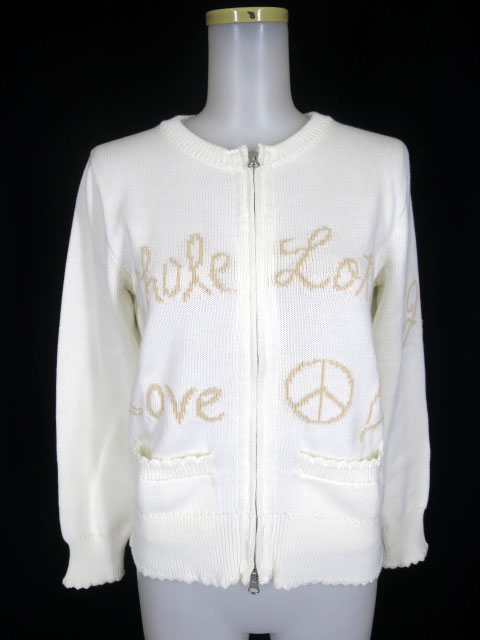 Jane Marple WHOLE LOTTA LOVEのブルゾン ニット