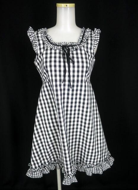 MILK ギンガムチェックドレス