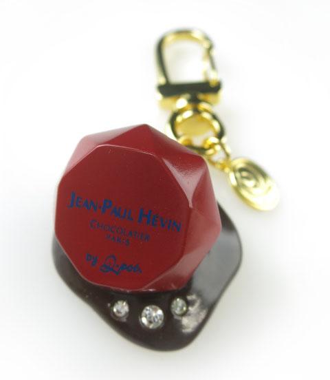 Q-pot.×JEAN-PAUL HEVIN 宝石チョコレートキーホルダー