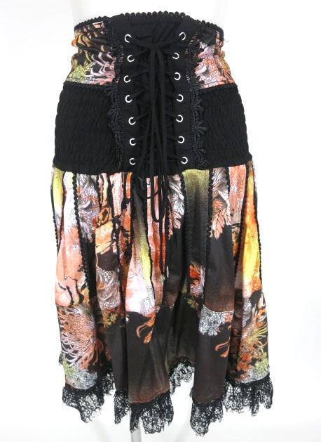 OZZ ONESTE 和柄2wayスカート