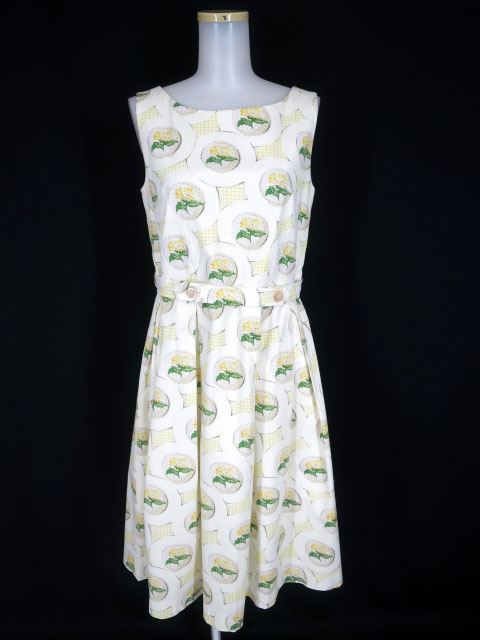 Jane Marple Dans Le Salon Flower PlateのDayドレス