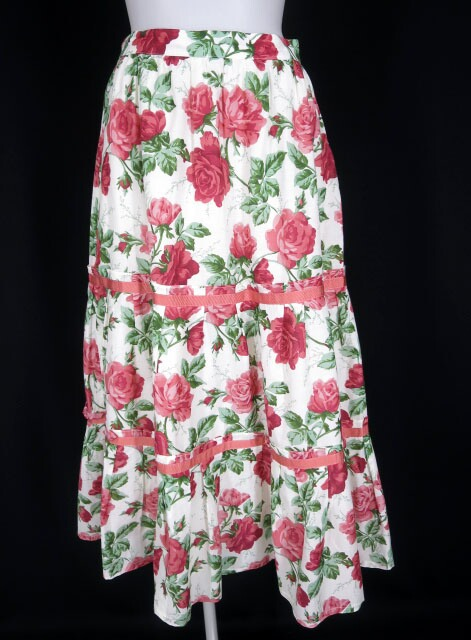 Jane Marple Dans Le Salon Climbing roseのティアードスカート
