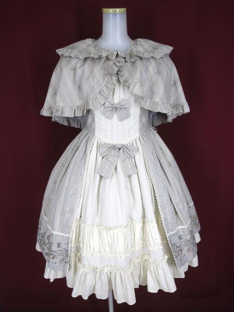 Victorian maiden ジュエルリボンエレガントドレス&リボンケープ