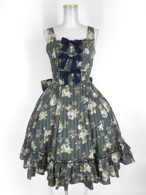 Victorian maiden トリプルリボンローズドレス