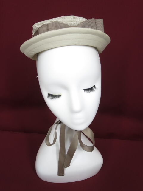 Victorian maiden フラワーチュールドレスハット