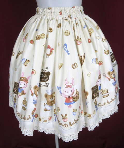 Metamorphose CL くまちゃんのBakery cafeミニスカート