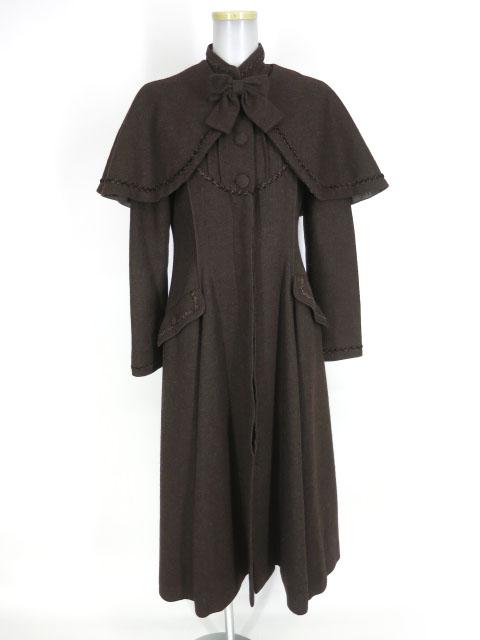 Victorian maiden ケープ付きスタンドカラーコート
