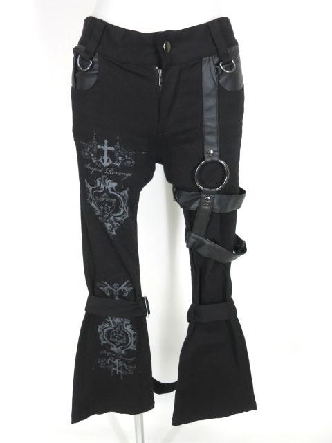 SEX POT ボンテージ BELT ブーツカット パンツ