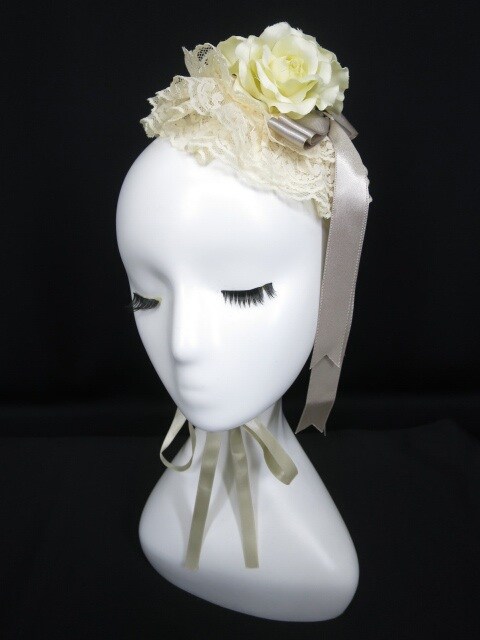 Metamorphose ローズ丸形ヘッドドレス