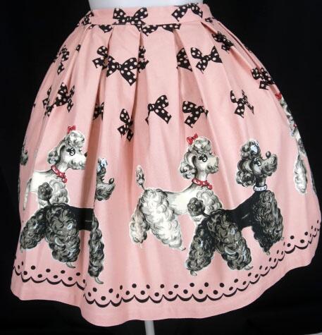 Emily Temple cute プードル & リボン スカート