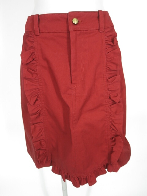Jane Marple フリル付きスカート