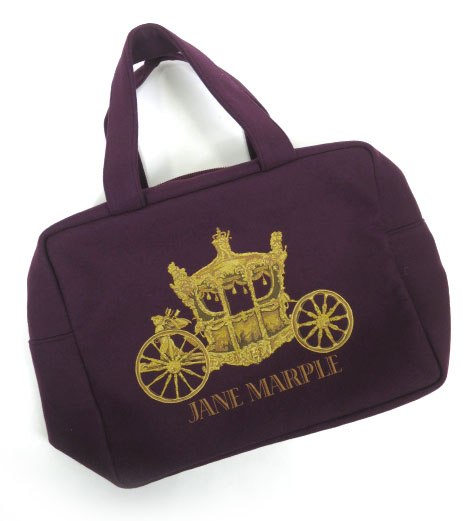 Jane Marple 馬車刺繍バッグ