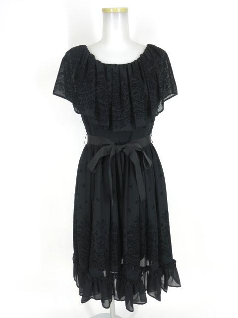 Victorian maiden フラワリーフロッキーエレガントドレス