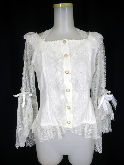 BABY, THE STARS SHINE BRIGHT Marie Antoinette Lace ブラウス