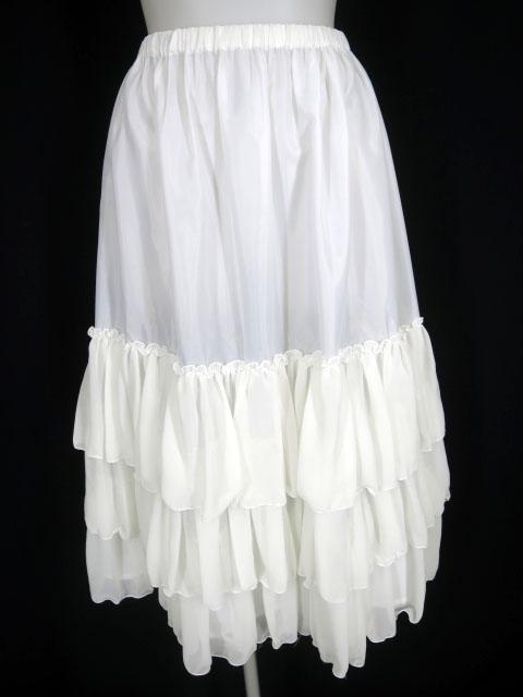 Victorian maiden ロングシフォンアンダースカート