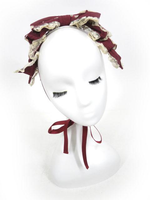 Innocent World バラとトランプのリボンヘッドドレス
