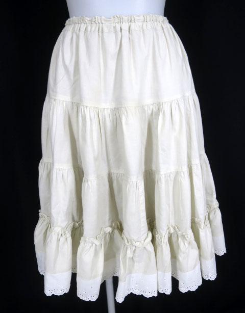 Victorian maiden コットンレースペチコートスカート