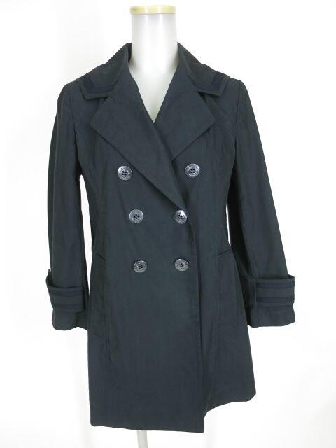 Jane Marple シャンブレーツイルセーラーカラーのセドリックコート