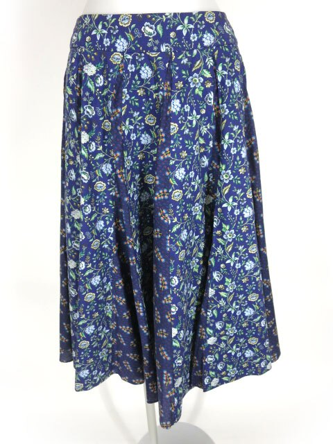 Jane Marple Dans Le Salon 花柄ロングスカート