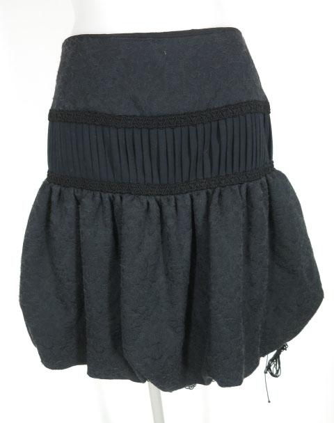alice auaa ジャガードバルーンスカート