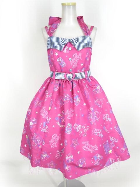 Angelic Pretty Neon Star Diner Specialジャンパースカート