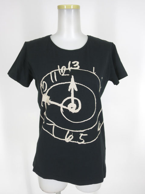 Vivienne Westwood ANGLOMANIA クロックプリントTシャツ