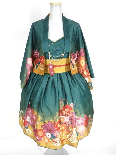鈴屋洋装 睦月ジャンパースカート&羽織り セット