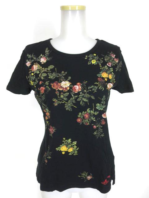 Vivienne Westwood × Lee ローズプリントTシャツ