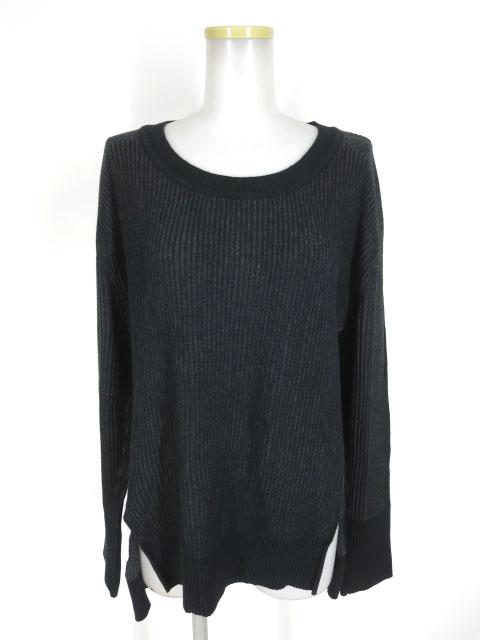 Vivienne Westwood RED LABEL オーブ刺繍入りリブ編みニットセーター