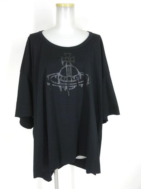 Vivienne Westwood RED LABEL オーブプリントビッグTシャツ