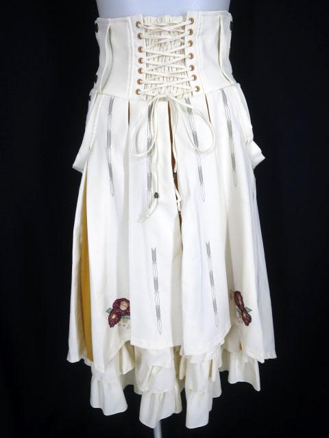 OZZ ONESTE 椿刺繍 袴風スカート