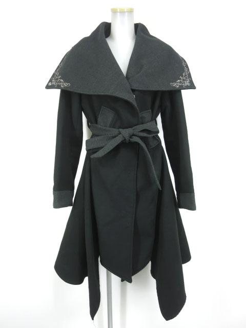 Rozen Kavalier 衿刺繍入りロングコート