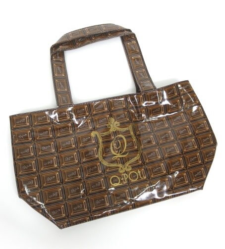 Q-pot. チョコレート ランチトートバッグ