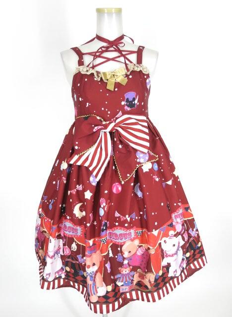 DOLL PARADISE (To Alice) サーカスプリントジャンパースカート