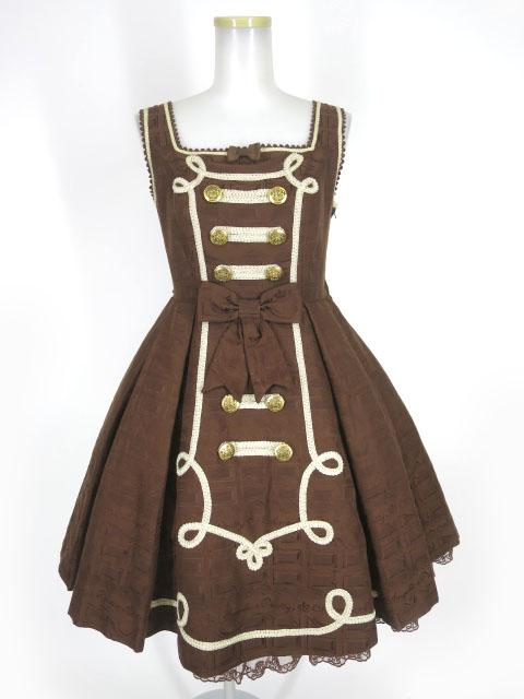 Angelic Pretty Melty Whip Chocolateジャンパースカート