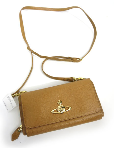 Vivienne Westwood EXECUTIVE ショルダー付 ラウンドファスナー 長財布