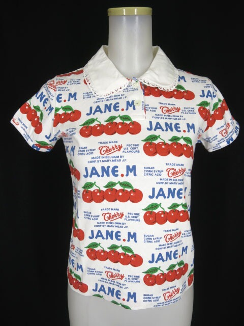Jane Marple チェリーボンボンプルオーバー