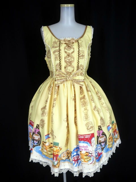 Angelic Pretty Honey Cakeラウンドジャンパースカート